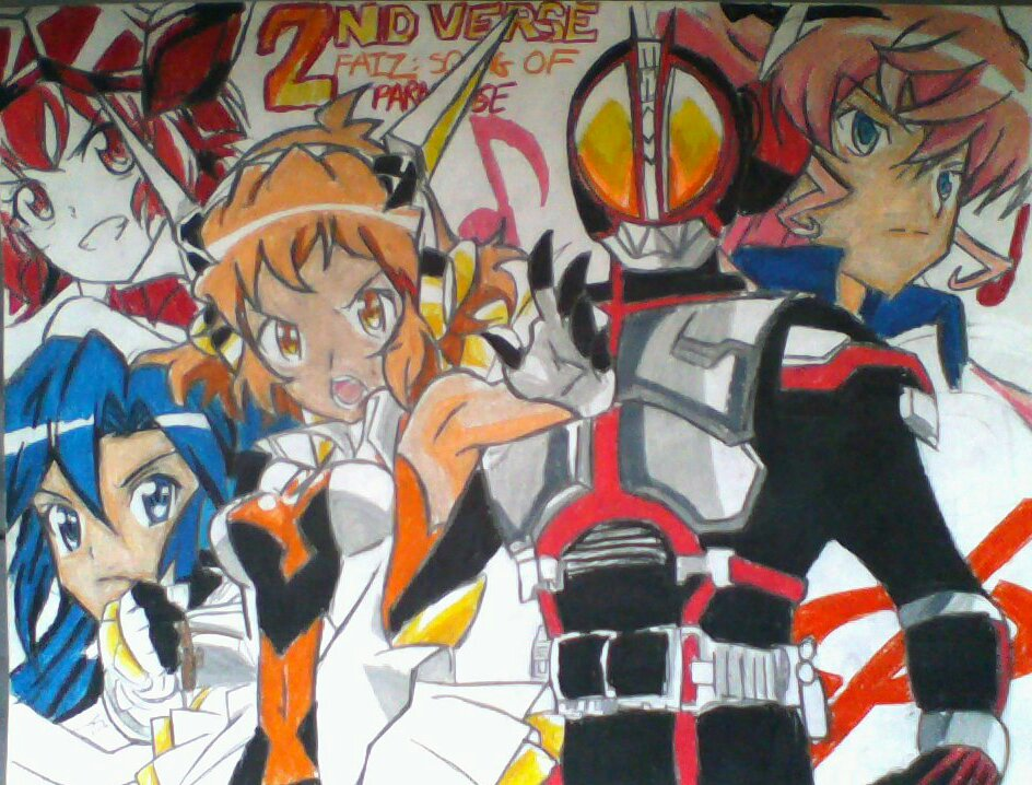 Kamen Rider Faiz: Song of Paradise Second Verse by vocaloidHM01 on