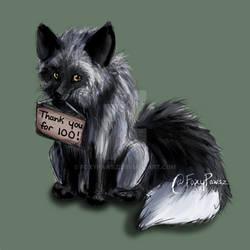 Silver Fox - THANK YOU! (100 Watchers)