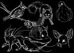 Random Animal Sketches
