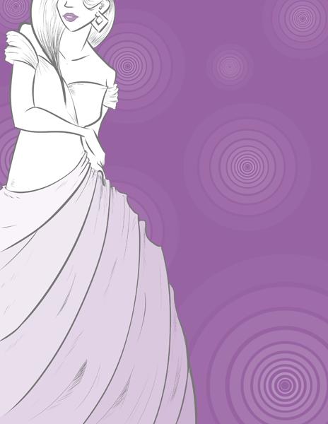 Purple Poster by Nikki0417