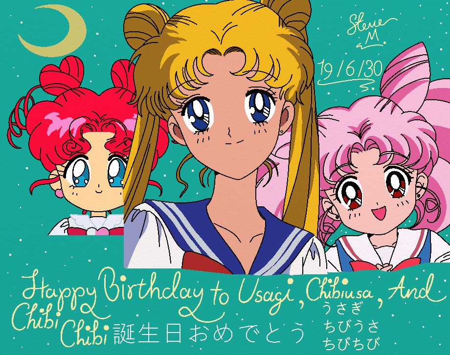 Happy Birthday To Usagi, Chibiusa, Chibi Chibi!!!