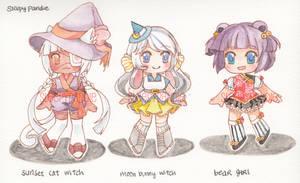 [ adopts ] Kemonomimi witches : 2/3 OPEN
