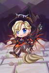 witch mercy postcard