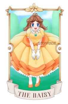 [ print ] princess daisy card