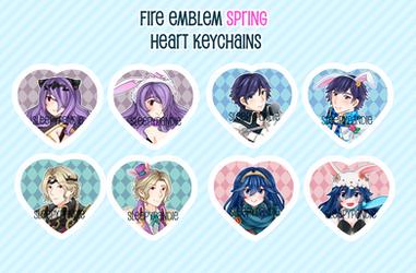 Fire Emblem Spring Festival Keychains
