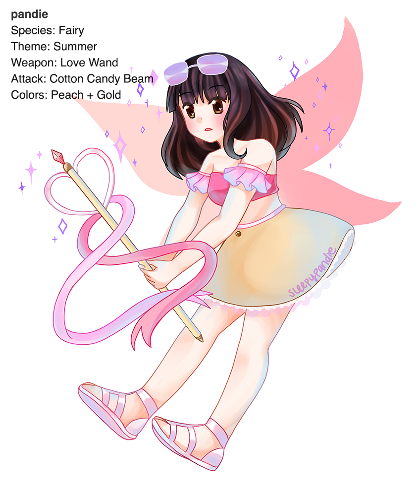 magical girl pandie