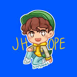 [chibi] j hope - hope world