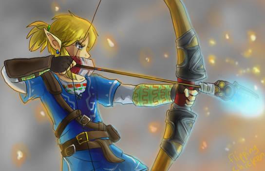 Zelda Breath of the Wild - LAZERS by FlippingChicken