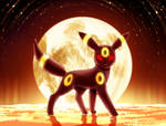 Umbreon (Day 17 - Dark)