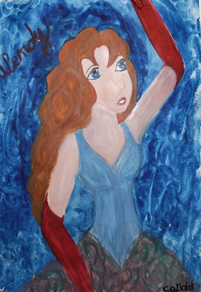 [Galerie] Les Princesses (KH, Disney...) Wendy_by_lunastrelle-d62qr49