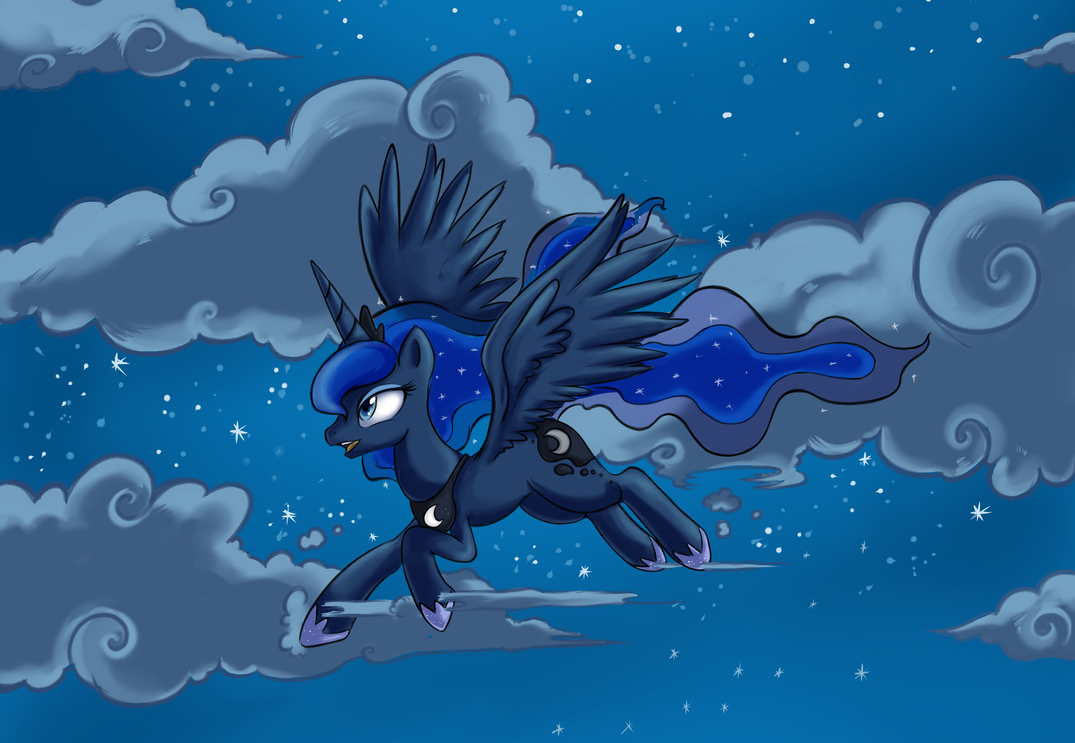 Luna Princess Of The Night Smaller by Crystal-Secret