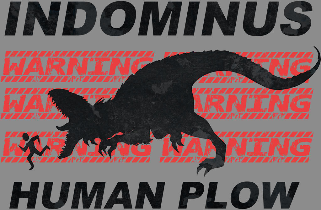 Indominus Human Plow by Crystal-Secret