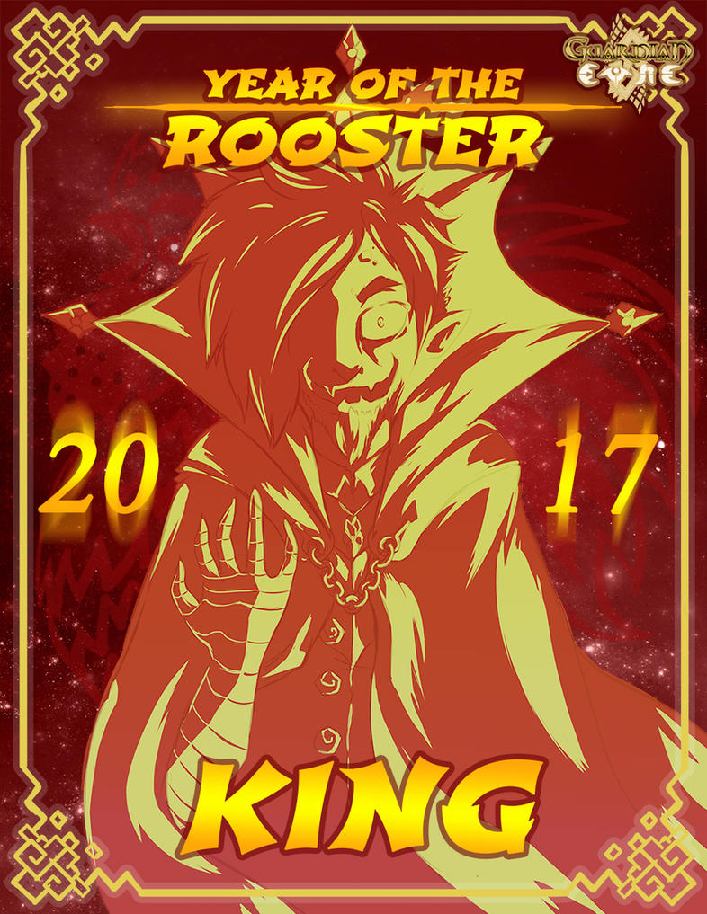 Year of the Rooster King by Crystal-Secret