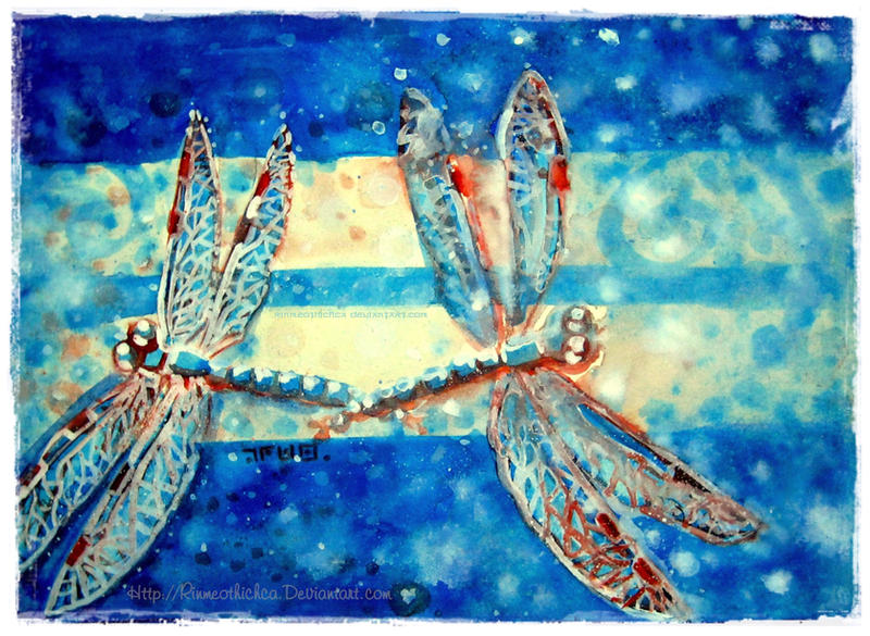 Dragonfly by Rinmeothichca