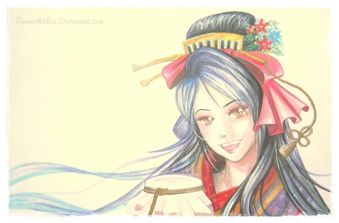 Fanart Jiroutachi game online Touken Ranbu by Rinmeothichca