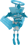 Dr. Neo Cortex Angel (Crash Twinsanity) Render