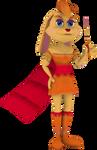 Bianca (Spyro Enter the Dragonfly) Render