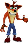 Crash Bandicoot (Crash Nitro Kart) Render