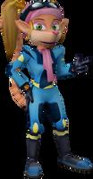 Pasadena O'Possum (Crash Tag Team Racing) Render