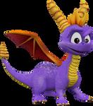 Spyro (Spyro Enter the Dragonfly Reborn) Render