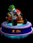 N. Gin (CNK Kart Showcase) Render