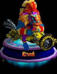 Krunk - GBA (CNK Kart Showcase) Render by CRASHARKI
