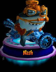Nash - GBA (CNK Kart Showcase) Render by CRASHARKI