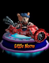Little Norm - GBA (CNK Kart Showcase) Render by CRASHARKI