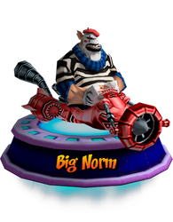 Big Norm - GBA (CNK Kart Showcase) Render by CRASHARKI