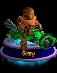 Geary - GBA (CNK Kart Showcase) Render by CRASHARKI