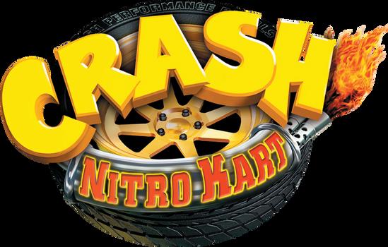 Crahs Nitro Kart European Logo (Poster)