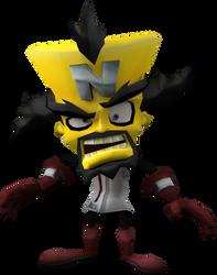 Neo Cortex (Crash Tag Team Racing) Render by CRASHARKI
