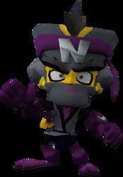 Neo Fu (Crash Tag Team Racing) Render by CRASHARKI