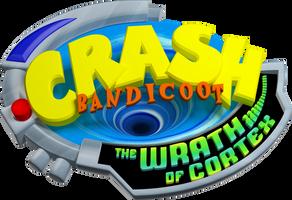 Crash Bandicoot The Wrath of Cortex Logo Render 4K
