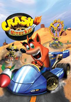 Crash Nitro Kart American Poster HD