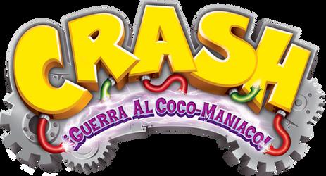 Crash Guerra Al Coco-Maniaco! Logo HD