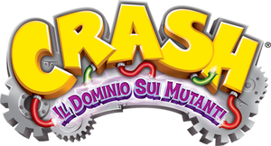 Crash Il Dominio Sui Mutanti Logo HD
