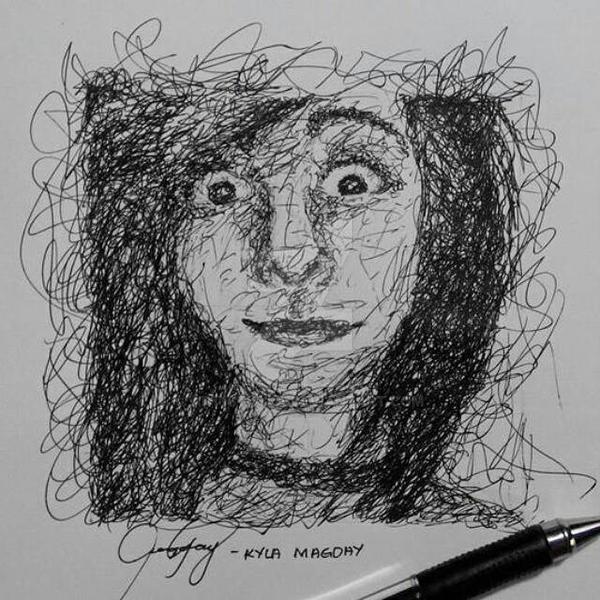 Drawing Scribble Method : Scribble drawing by art stkyla on deviantart
