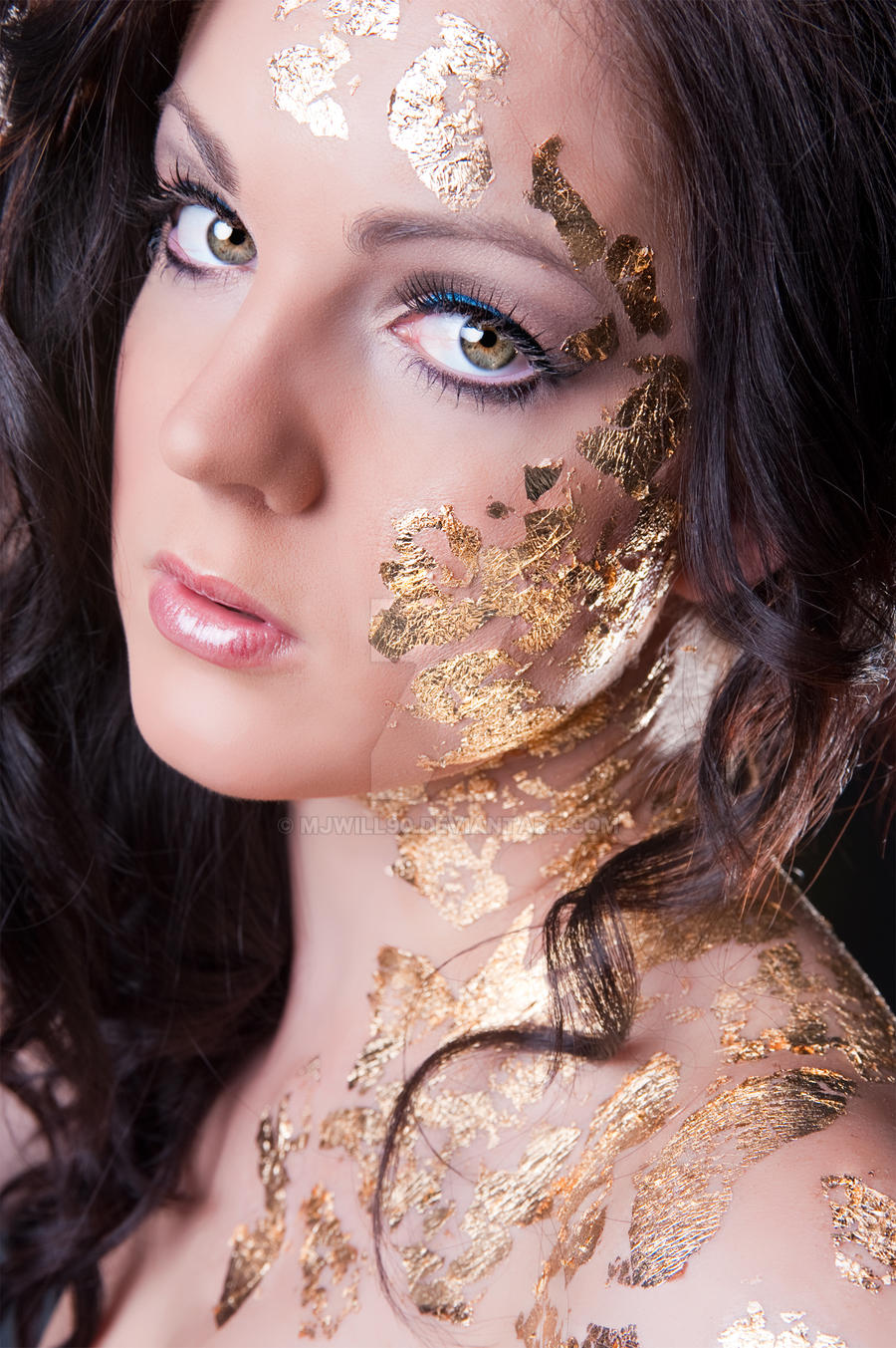 Bianca S Gold Leaf Makeup By Mjwill90