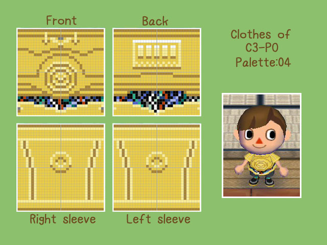 Animal Crossing:My Pattern 10 by iguru71