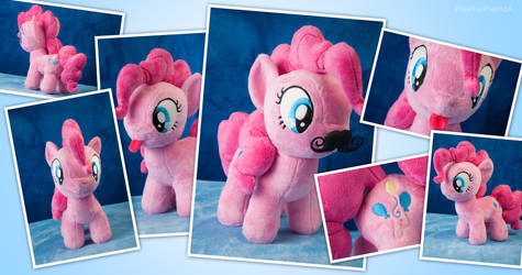 Filly Minky Pie with mustache and tongue!
