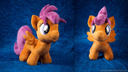 Scootaloo by PheiPlushies