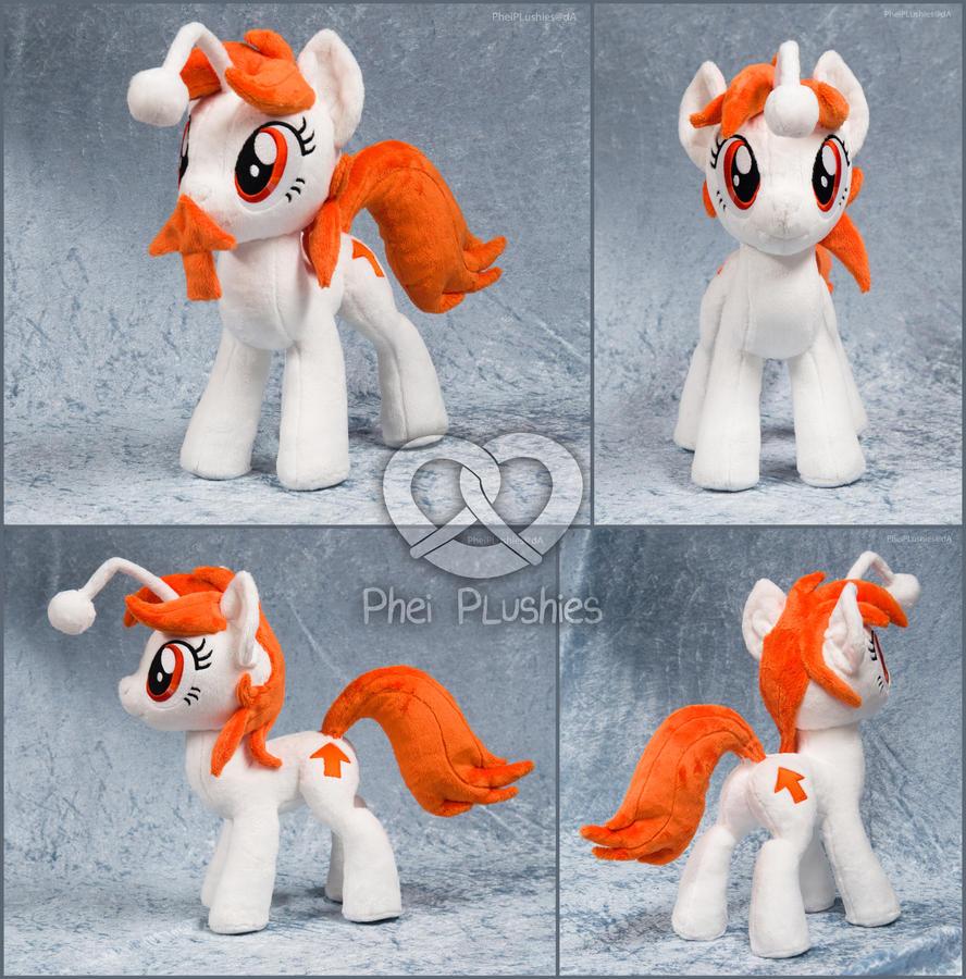 Karma the Reddit Pony by PheiPlushies