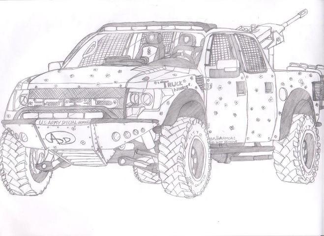 'Truck Norris' Ford SVT Raptor by jmig3 on DeviantArt