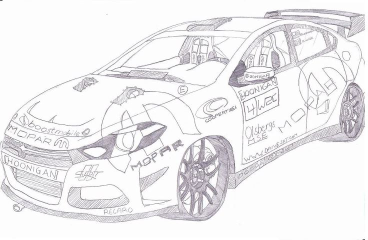 2013 [HOONIGAN] Mopar Dodge Dart rally car by jmig3