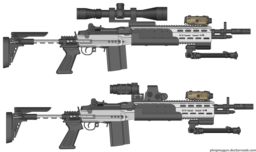Mk.14 Enhanced Battle Rifle by jmig3