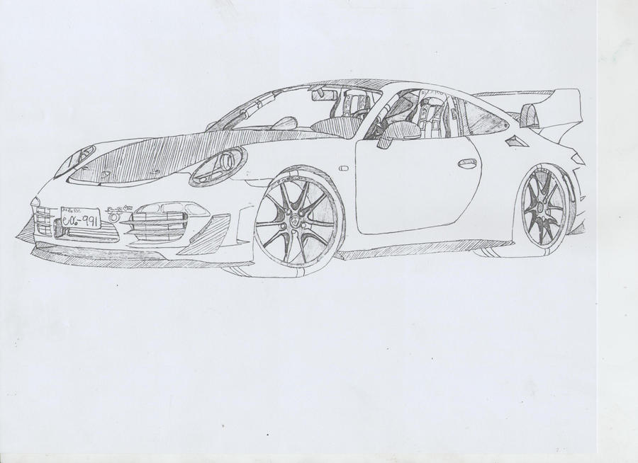 Porsche 911 Carrera S (991) by jmig3