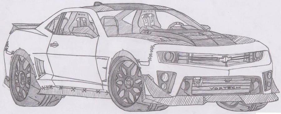 Chevrolet Camaro ZL1 N690 by jmig3