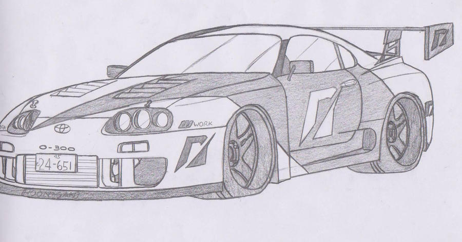 Team NFS 0-300 Toyota Supra by jmig3