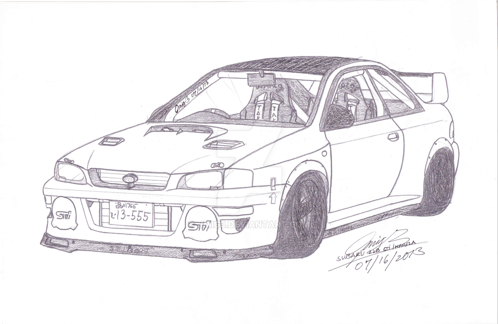 1998 subaru impreza 22b sti by jmig3 on deviantart